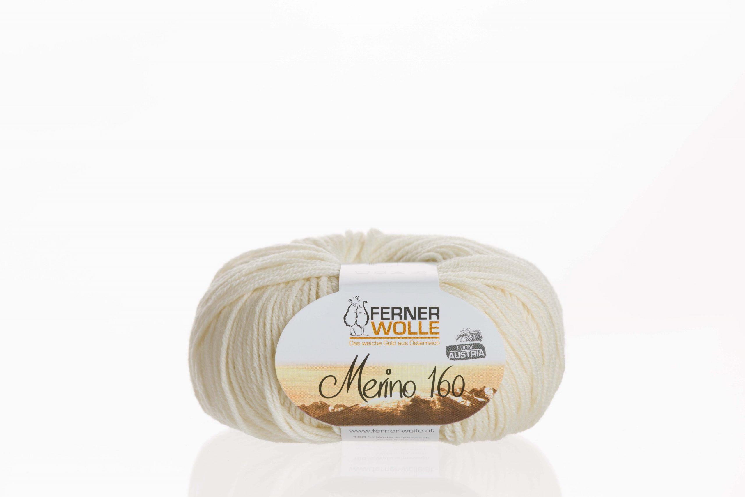 Merino 160 von Ferner Wolle Farbe 401