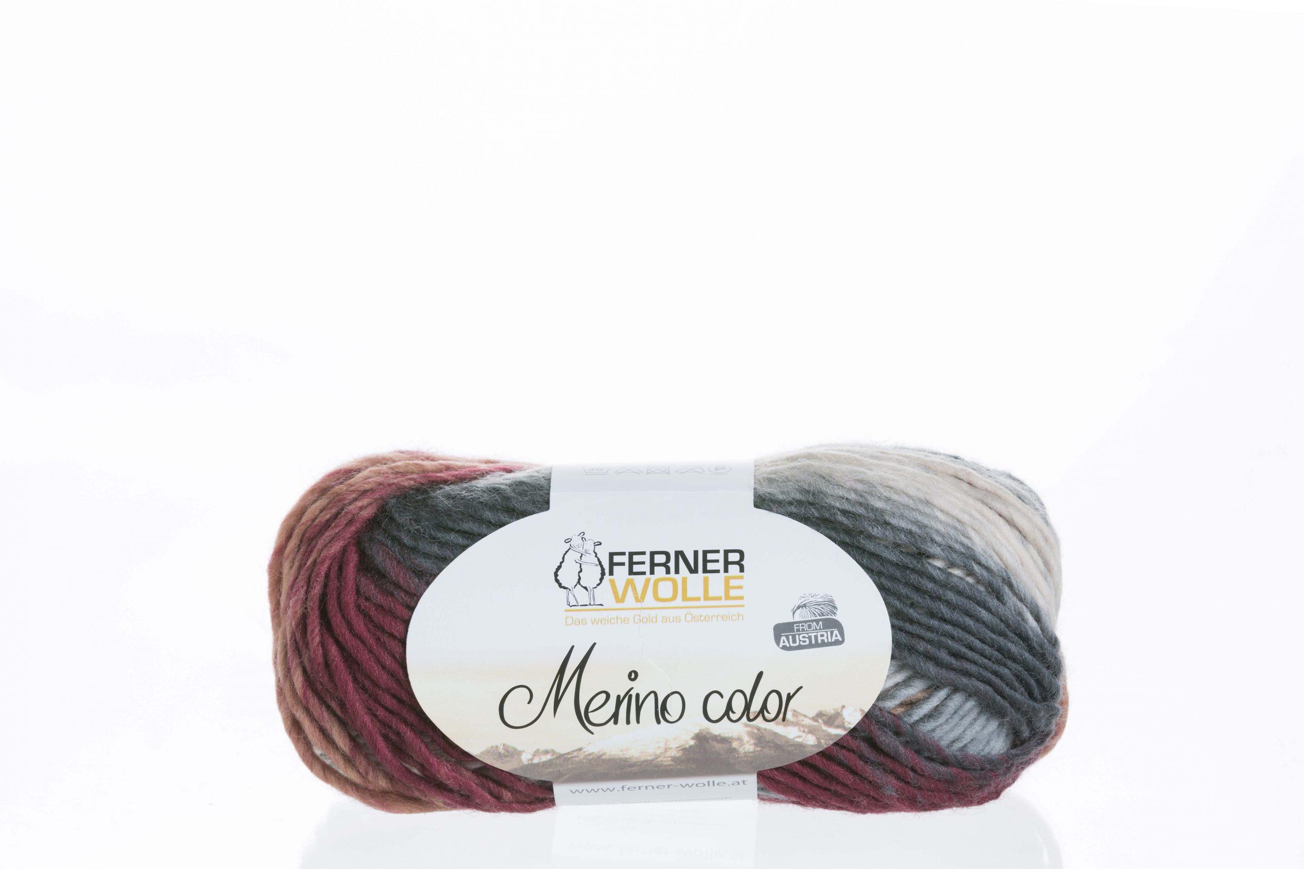 Merino color von Ferner Wolle Farbe 12